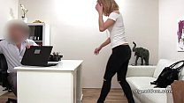 casting in style doggy gets blonde Hot