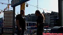Real amsterdam prostitute swallows load