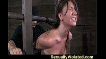 Bondage device makes her immobilized 1