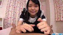Hikaru Morikawa loves pleasing her master with sex porn videos