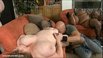 3 huge tit bbws get fucked in orgy