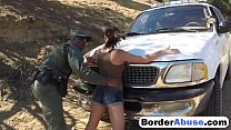 Hot Latina chick gets her holes inspected at th...