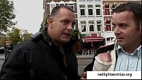 Real hooker from Amsterdam Red Light District -...