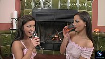 Nikki Rider and Eve Angel engage in some hot le...