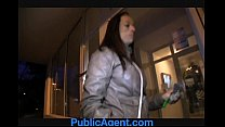 PublicAgent Vivian gets fucked in the arse for cash porn videos