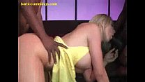 threesome interracial loves Barbi