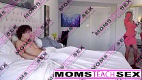 Moms Teach Sex -  Hot mom caught jerking off st...