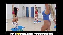 big-cock student's her rides teacher aerobics blonde Slutty