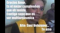 regarrot su darle que tuve cumpleaños, su festejo le no esposo velazquez, Susana