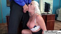 boob... round big with office in tape sex Hardcore