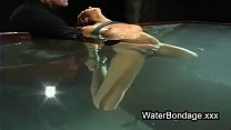beautiful babe cunt fingered under water