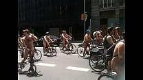 ride bike Naked