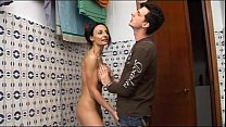 shower the in mom naked her spies boy geek Horny