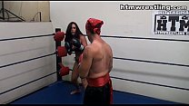 Maledom Tit Busting Fight Roleplay