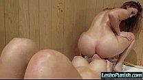 Mean Lesbo (capri & karlie) Sex Dildo Punishing Cute Horny Lez Girl mov-18