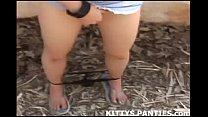 stripping and teasing kitty girl hula teen Hot