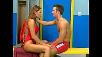 lifeguards having sex in the locker room