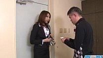 Dazzling blowjob with big tits Araki Hitomi porn videos