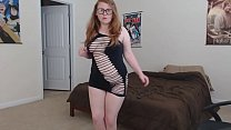 hot Amateur Redhead Teen Stripping for You - xd...