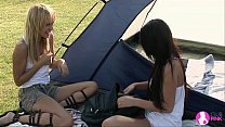 Lesbian Camping Trip - Viv Thomas HD