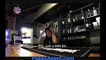 PublicAgent Sexy barmaid closes for sex porn videos