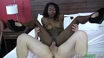 Black Woung Women, White Man Amazing Sex