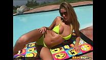 striptease Carli Banks in BikiniRiot