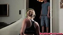 Candy Alexa joins couple after foreplay thumbnail