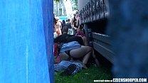 concert during sex public - snooper Czech