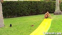 sucks and slides rush Goldie