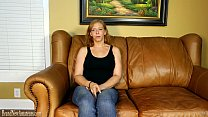 Mom on casting couch masturbating then giving a...