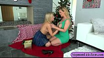 cherie deville and zoey monroe enjoyed pleasuring pussies