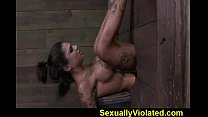 Bonnie drooling gagging and cumming 2