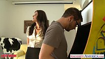 stockinged mom india summer gets penetrated and fac…
