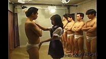 Bukkake Highschool Lesson 7 2/4 Japanese uncens...