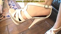 punishement sandals heels high savage laurie miss extreme The