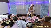 orgy gangbang lederhosen in Nurses