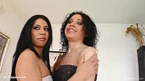 Spermswap delivers Carla C & Brigit to fuck and...