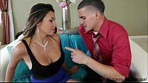 fucked ass gets and tits huge her shows dillon danica brunette Sexy