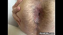 bareback first his on gay Latino