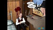 1-2 world fourth comic: 3d