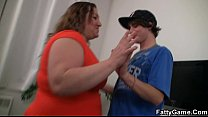 Fatty picks up an young stud