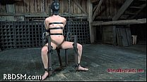 Babe acquires lusty slit prodding