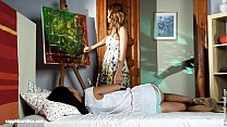 erotica sapphic by painter seduced in fisting lesbian hot heaven and Hailee