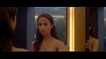 (2015) machina ex in scenes nude vikander Alicia