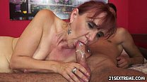 cock young a for lust has nanney Granny