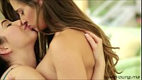college teen lovers cassidy klein and aria alexander goes pussy tribbing