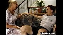 Horny Granny Riding Her Big Son In Law porn videos