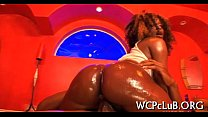 cumcovered wazoo gets Babe