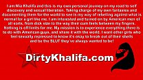 Middle Eastern Sexpot Mia Khalifa Spreads Her L...